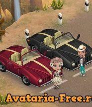 гонках на машине в аватарии